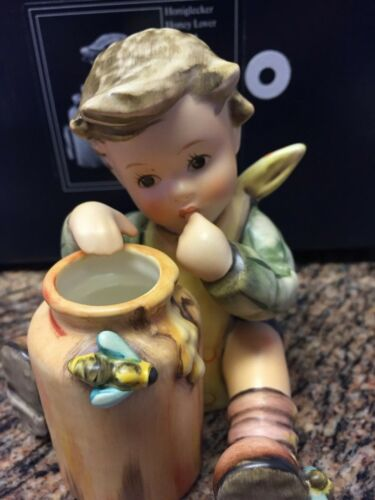 GOEBEL HUMMEL:  HONEY LOVER 312 WITH ORIGINAL BOX - MINT!  JUST ADORABLE!