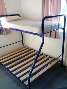 Bunk Beds - double bottom, single top Chermside Brisbane North East Preview