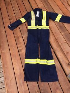 Reflective FR coveralls