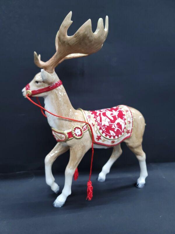Fitz & Floyd TOWN & COUNTRY Reindeer Figurine