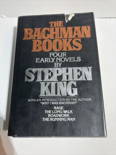 The Bachman Books Four Early Novels By Stephen King 1985, Hardcover  - $46.00