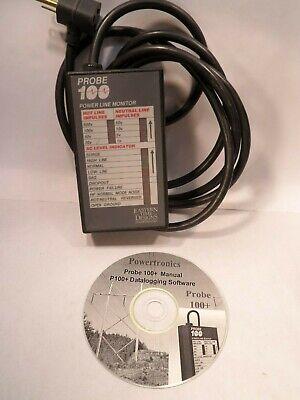 Powertronics Power Line Monitor Probe 100 Older Unit
