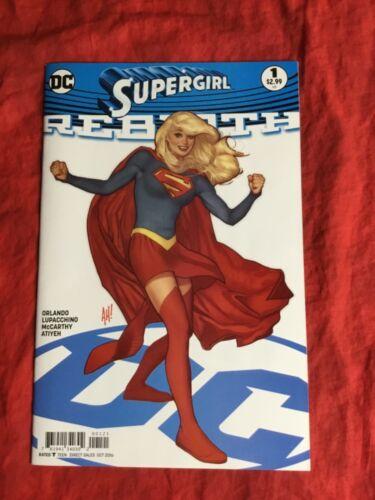 SUPERGIRL REBIRTH #1~ADAM HUGHES VARIANT~DC COMICS BOOK~SUPERMAN~DC~B