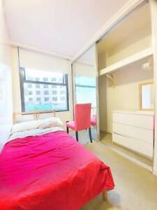 Nicely furnished single room near Central, UTS, Sydney uni. No minimum