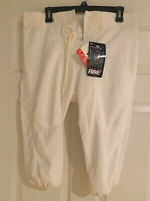 Bike Athletic Youth Football Pants w//o Pads Youth Small Style F340 Silver NEW