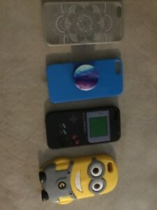 4 iPhone 5 case's for sale