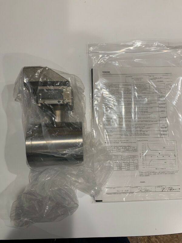 New Toshiba Electromagnetic Flowmeter Detector L414FBCFACAAA 175 Gal/min 1.5""