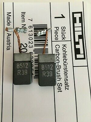 Original HILTI Escobillas carbón TE1 TE2 TE2M TE2S TE3C TE3M UD16 UD30...