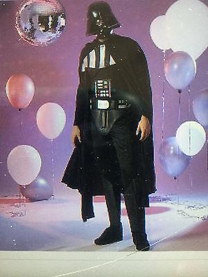 Star Wars Darth Vader Adult Mens Costume Size Small/Medium - Brand new