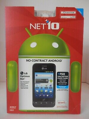 Net 10 No Contract Android LG 3G Wi-Fi Smartphone-NIB-Free Shipping