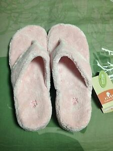 Pink Acorn Slippers