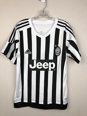94708d6be2f Adidas Climacool Juventus Jeep Pogba # 10 Soccer Jersey Men's Sz. Small GUC