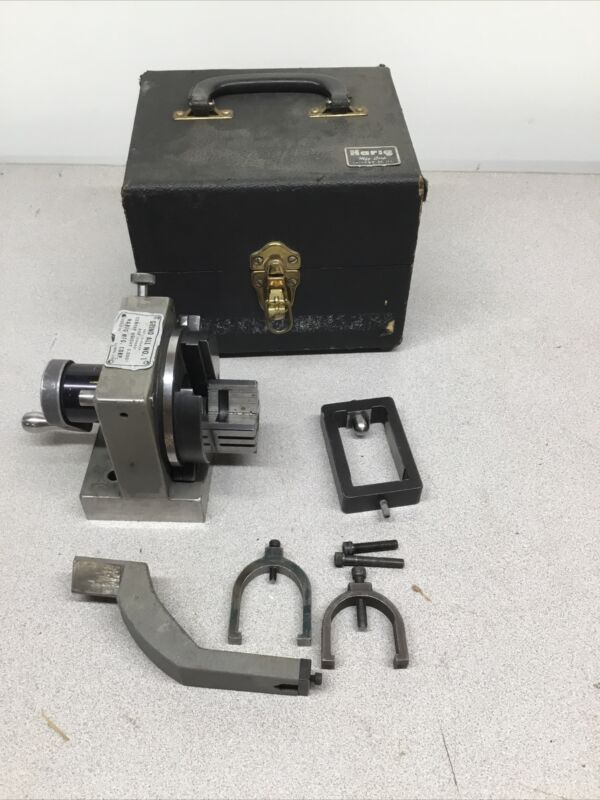 """Harig Grind All No. 1 Indexing Grinding Fixture Grindall 3"""" Center Height"""