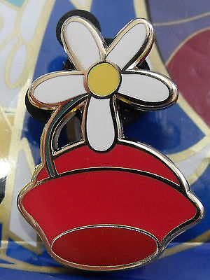 (2012 Disney Minnie Mouse Flower Mystery Character Hats Trading Pin DR)