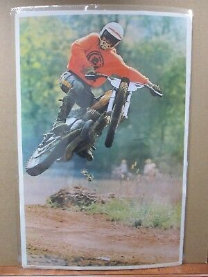 Vintage Moto C-Z Rider Dirt Bike motorcycle 1972 Motocross in#G681