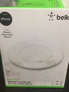 Belkin high speed QI Apple iPhone wireless charger