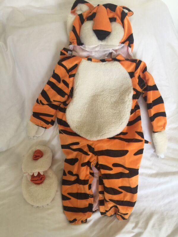 Tiger Halloween Costume Incharacter 12 -18 MTHS