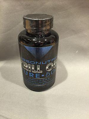 - Absonutrix Krill Oil Pure 500 Omega 3, 6 & 9 anti oxidant immune 120 Capsules