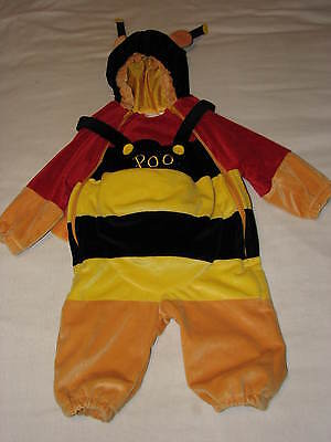DISNEY Winnie POOH Bumble Bee Halloween COSTUME Baby 6 12 Month Boy Girl Boy EUC - Bumble Bee Halloween Costume 12 Month