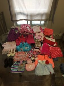 Large amount of baby girl clothing sizes 6m-18m