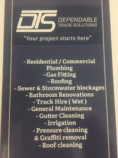 Plumbing,Colourbond roofing ,Gas fitting and Septic systems