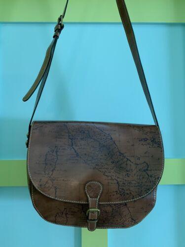 Patricia Nash Rosalind Saddlebag Style Handbag-NWT