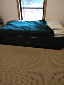Single Bed base with 4 huge drawers
