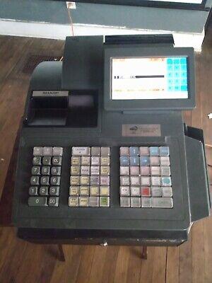 Sharp Up-820n Pos Cash Register Scanning Register