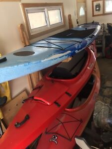 Kayaks and a paddle board - selling as a package