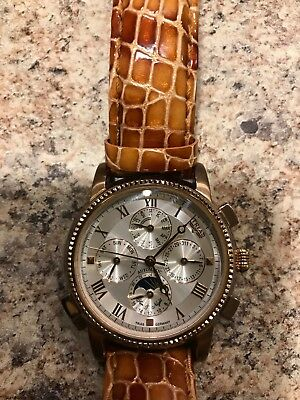 Mens Trias Automatic Moon Phase Watch All Offers Considered