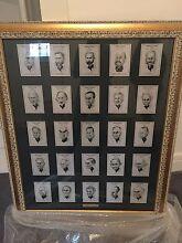 Australian Prime Ministers Picture Framed Mosman Mosman Area Preview