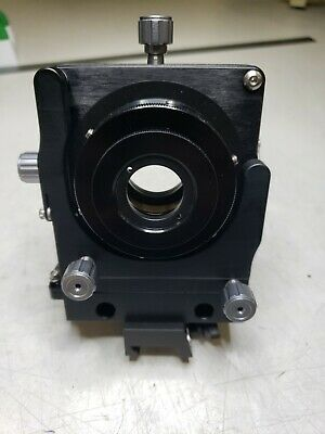 Newport Lp-1a - 5 Axis - Xyz Xy Lens Positioner 1.0 In. 25.4 Mm