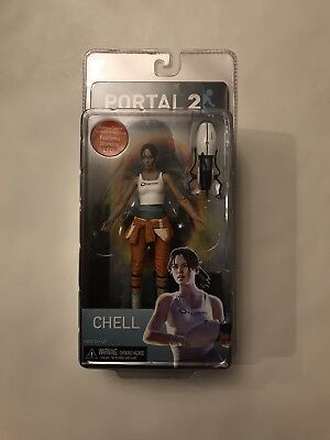 Free shipping, NECA Portal 2 CHELL Valve 2013 with Working LED New, Gifting