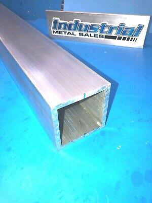 3 X 36-long X 14 Wall 6061 T6 Aluminum Square Tube--3 X .250 Wall