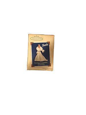 new hallmark keepsake ornament CELEBRATION BARBIE 2003 4th in series