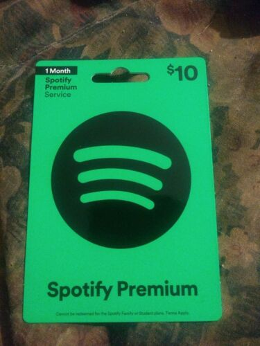Spotify Brand New Collectible Gift Card NO VALUE 0618v01 - $2.88