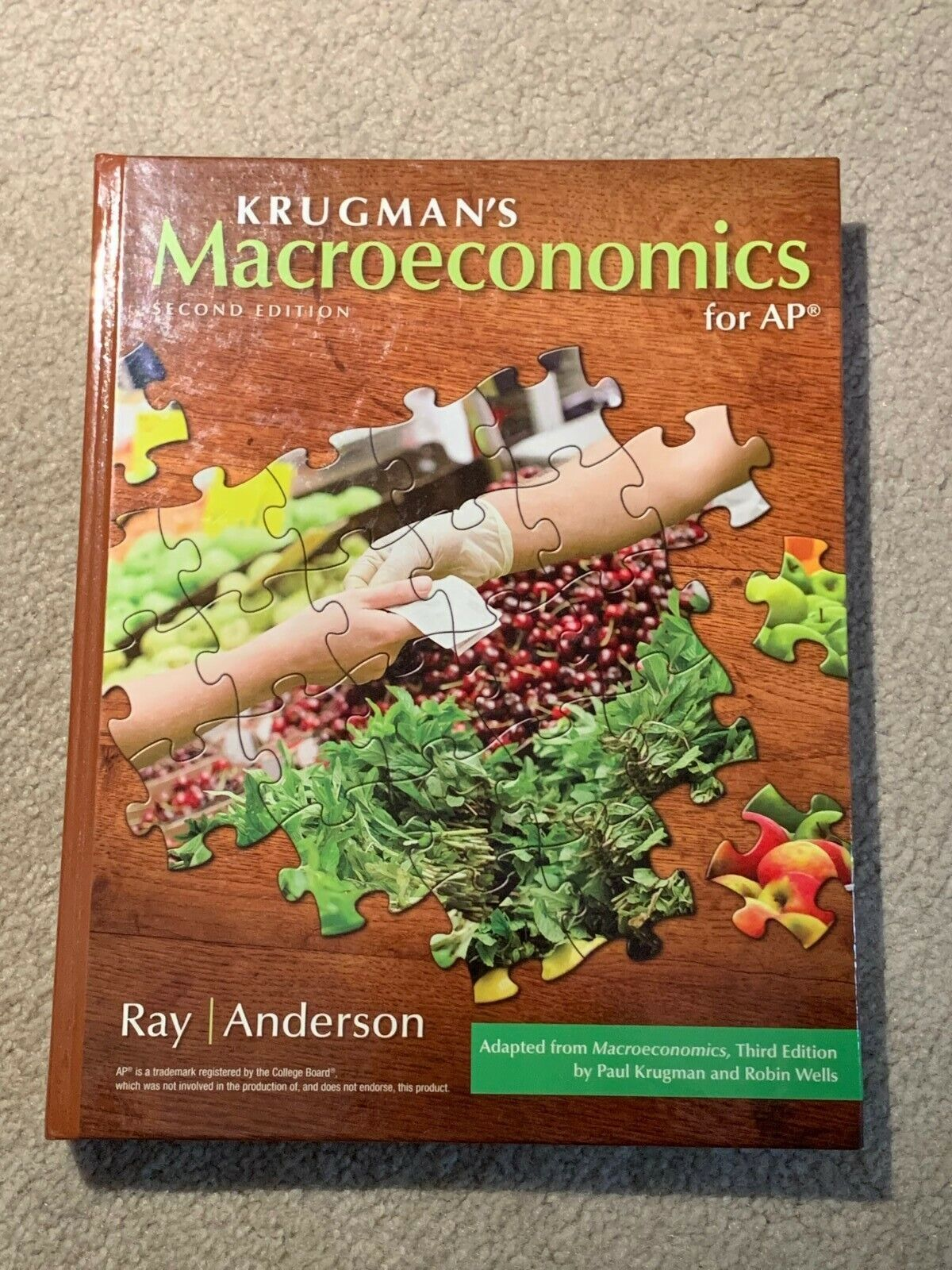 *BRAND NEW* Krugman's Macroeconomics for AP 2nd Edition Ra