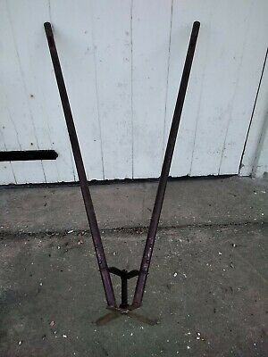 Antique Tripod Cantilever Lawn Grass cutting shears