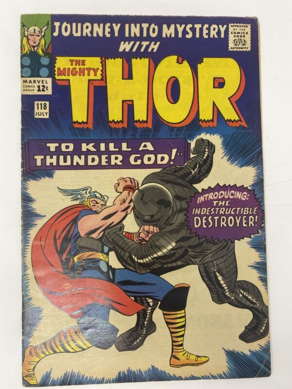 Journey Into Mystery #118, THOR  -   INTRODUCING THE DESTROYER !