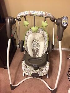 Greco 2-in-1 Baby Swing/Bouncer