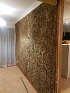 Cork Bark Wall Tiles