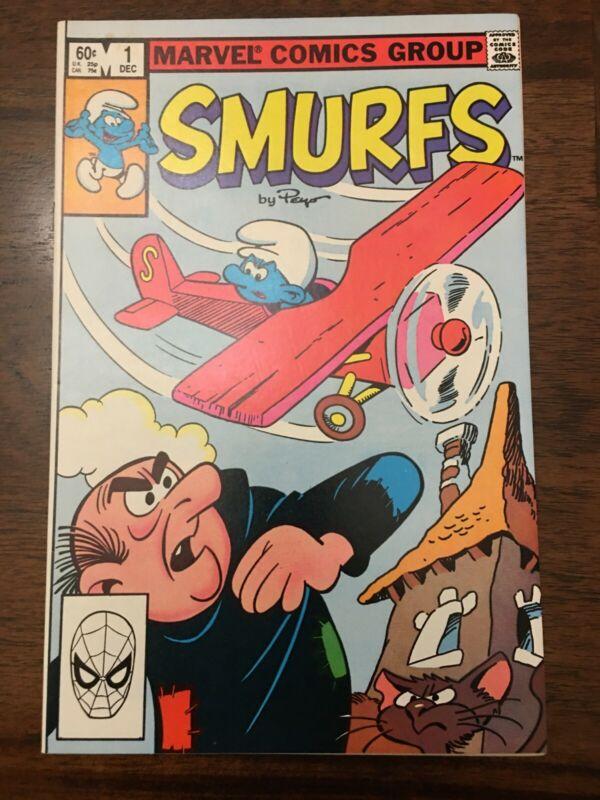 1982 Marvel Smurfs 1 comic nrmt
