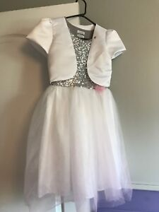 Robe fille blanche