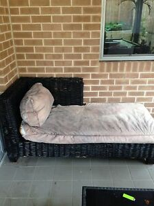 Outdoor cane lounge/day bed Airds Campbelltown Area Preview