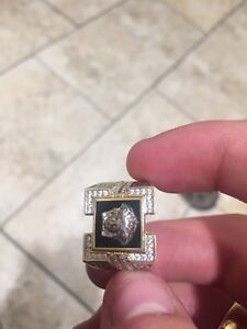 3 10k gold and diamond rings