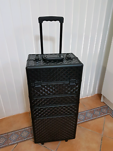 Extra Large Cosmetic Case trolley. New in box never used. Ascot Brisbane North East Preview