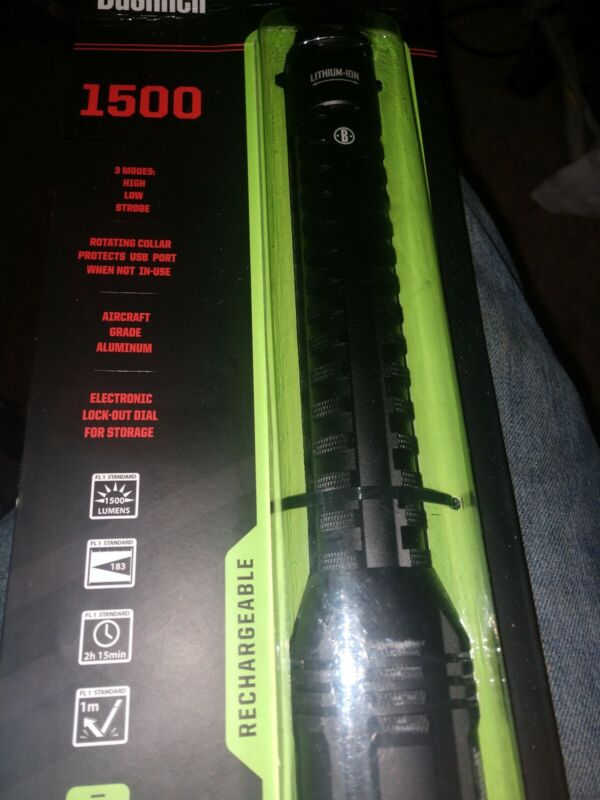 Bushnell Pro 1500 Lumens  Rechargeable Flashlight - 20511
