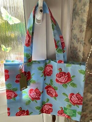 CATH KIDSTON VINTAGE TESCO FLOWER SHOPPING BAG / TOTE NEW