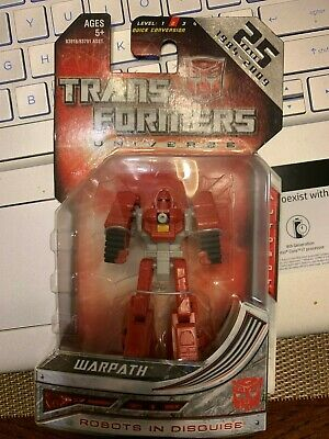 Transformers Universe Classics Legends Class 25th Anniversary Warpath LQQK NEW!!