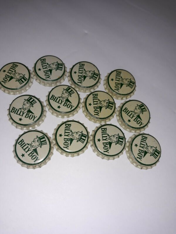 Vintage Billy Boy Bottle Caps (12)